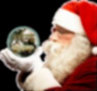 Santa Clause at the Trai n Station Medin