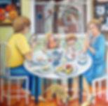 Le déjeuner, ou la Sainte Famille au déjeuner
