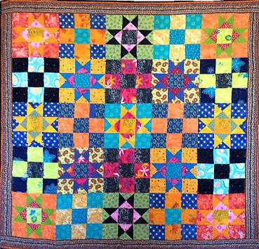Un carré d'étoiles pour Nathalie
