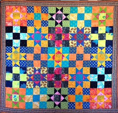 Étoiles carrées pour Nathalie