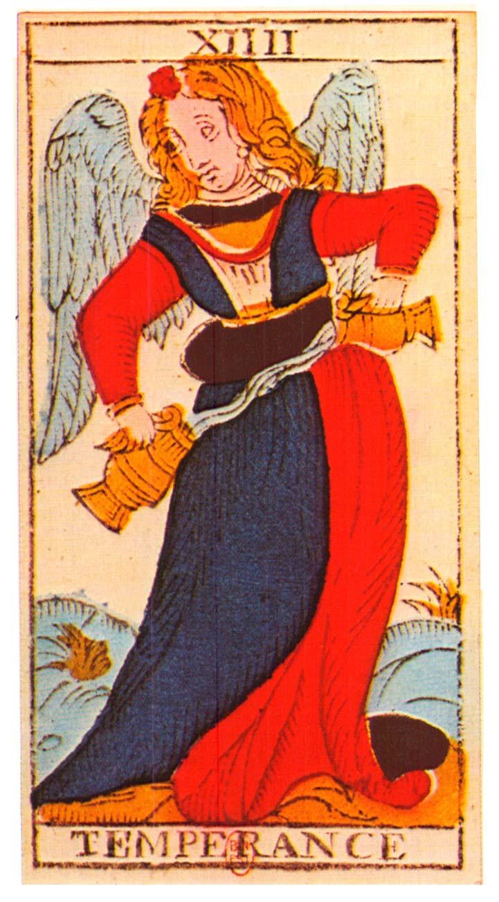 Temperance, Tarot, attention douceur danger