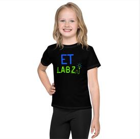 ET Labz Kids T-Shirt (Black)