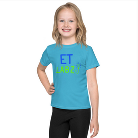 ET Labz Kids T-Shirt (Teal)
