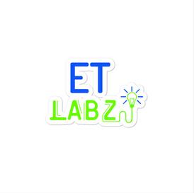 ET Labz Bubble-free Sticker