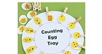 Number Recognition- Match the Chick to t