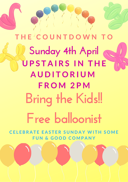 Balloonist 4th April Easter sunday 2021.