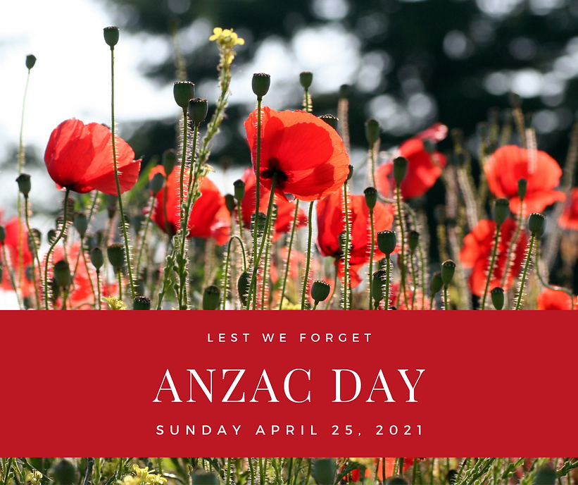 Red Poppies Photo Anzac Day Wishes Faceb
