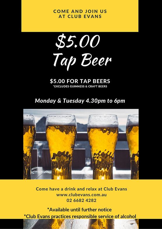 $5.00 each Tap Beers.png