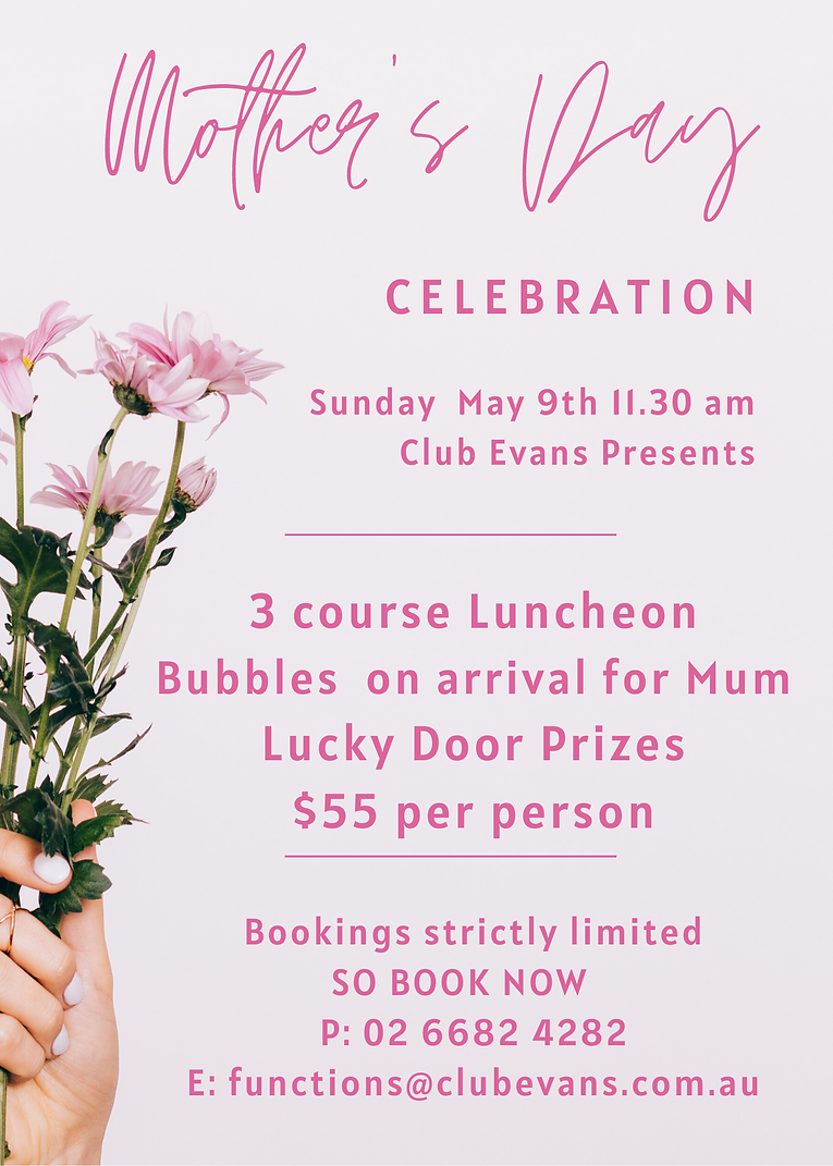 Pink Flowers Photo Mother's Day Flyer.pn