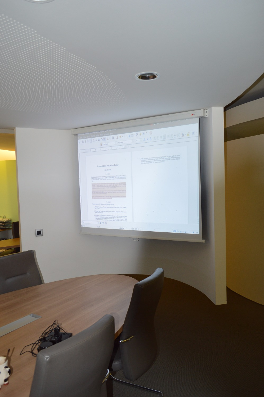Coworking Ljubljana room projector