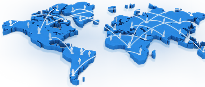 Enter global markets through sales professionals worldwide