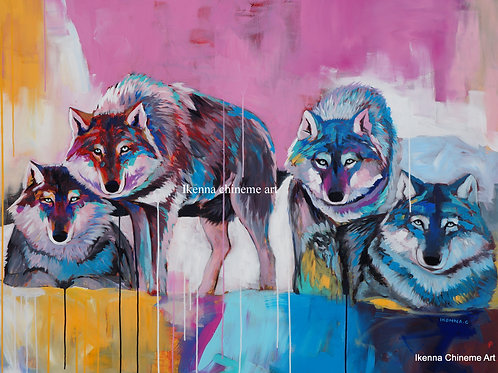 Wolf pack (Prints)