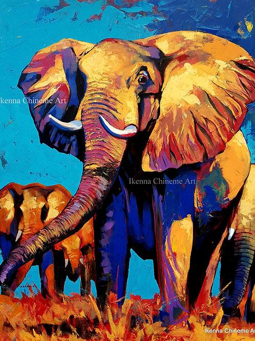 Elephants (Prints)