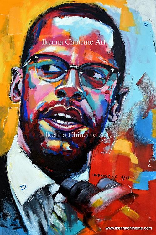 Malcolm X (Prints)