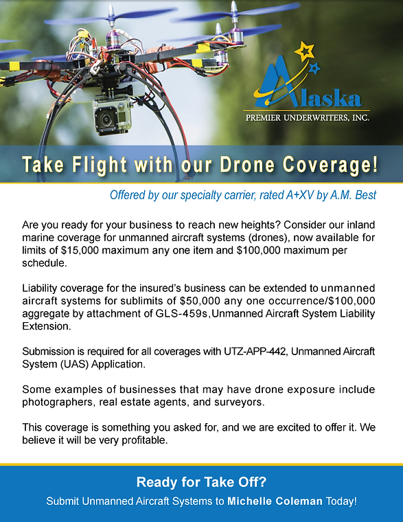 Insurance Company Alaska, Managing General Agency, Insurance Brokers, Property Casualty, Insurance, MGA, Drone Coverage