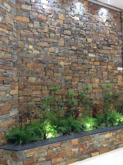 Capstone Dry Stack Walling