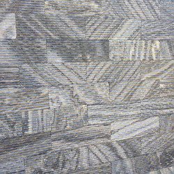 Black Striated Marble Panels