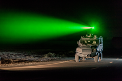 MSPV fitted with Laser Dazzler