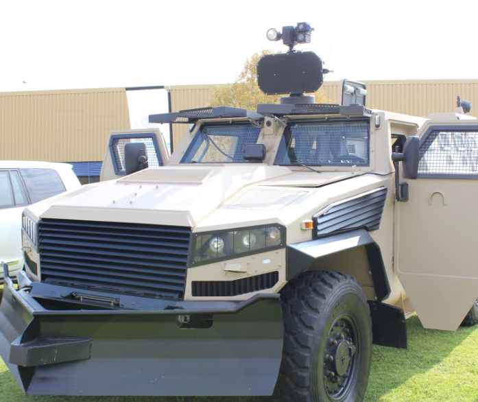 STORM 300 fitted on MIlitary vehicle