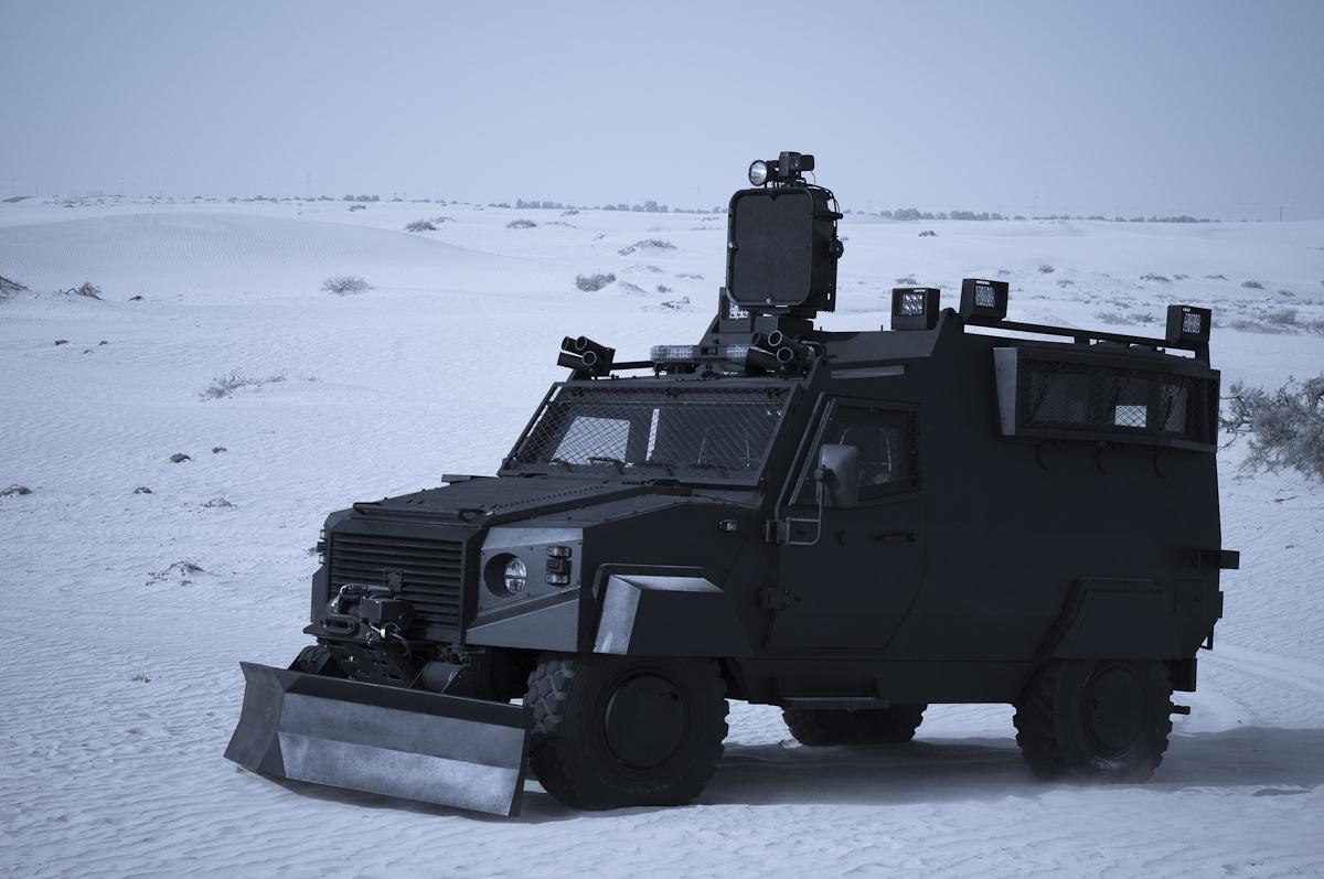 NIMR ISV Vehicle