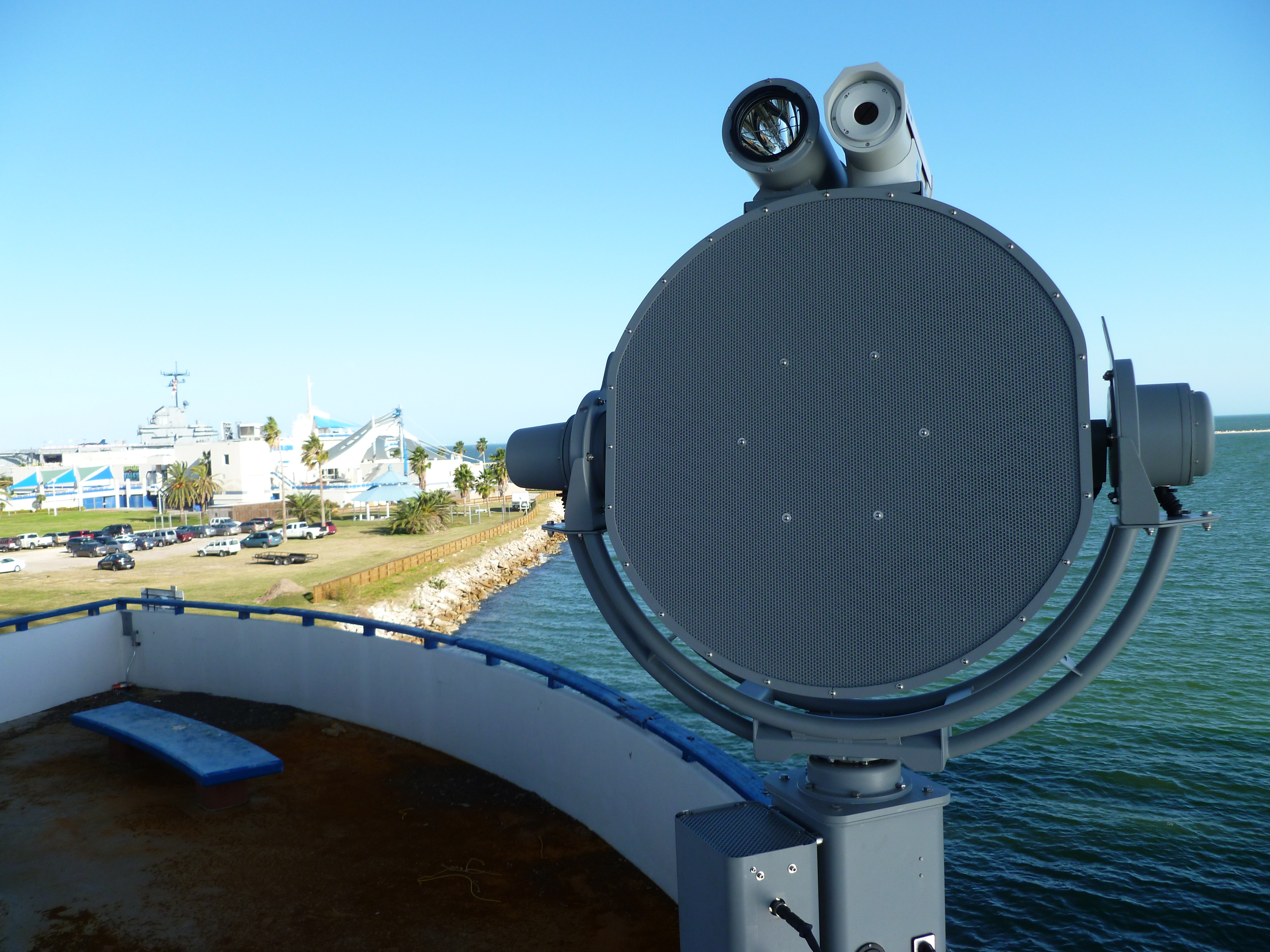1000RX on Naval Vessel