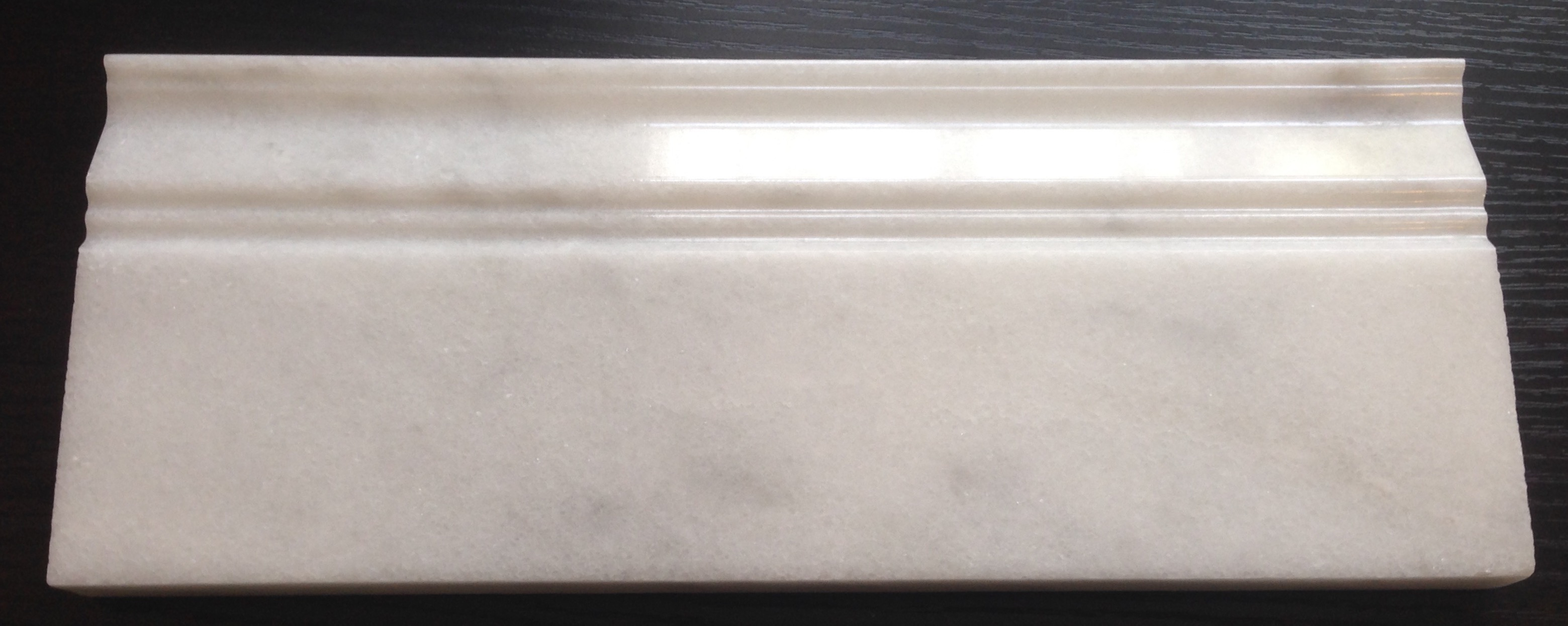 White Marble Skirting