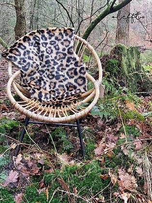 Rohe jaren 60 rotan stoel