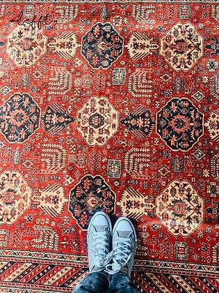 Vintage tapijt van Vorwerk