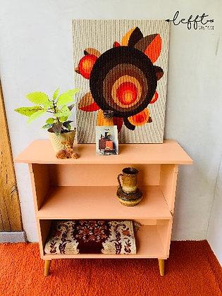 Vintage kastje in terra kleur
