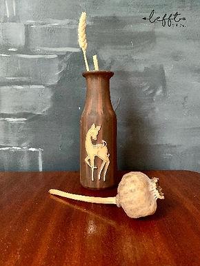 Vintage vaasje met bambi hert