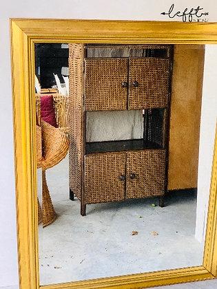 Regency grote gouden spiegel