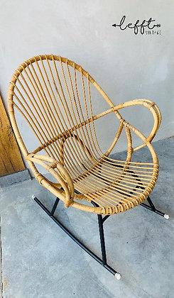 Vintage Rohe schommelstoel