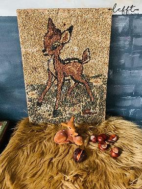 Bambi handgemaakt schilderij