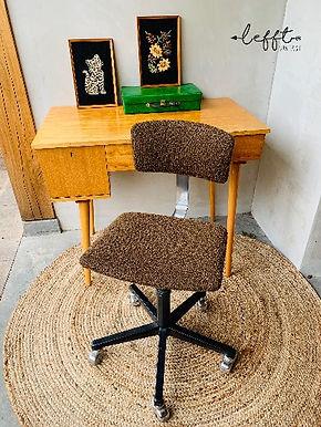 Vintage bureau stoel