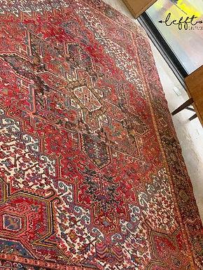 Groot Rood Perzisch Tapijt