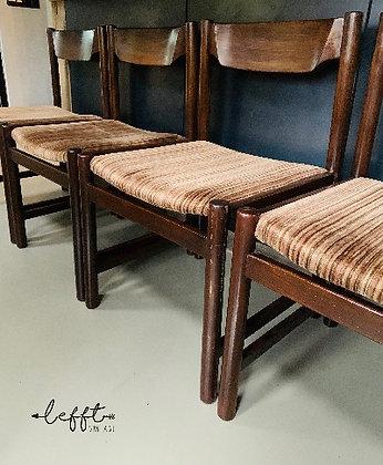 70's eetkamer stoelen