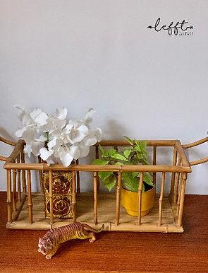 Rotan Bamboe Planten Mand