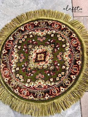 Vintage Rond Perzisch Tapijt Yordes