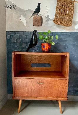 Vintage Tv-Meubel Retrostijl Jaren 60