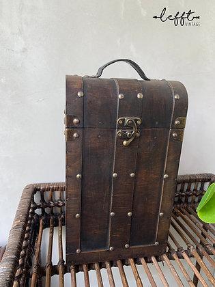 Vintage Oude Wijn Koffer