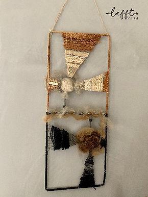 Jaren 70 Vintage Wandhanger