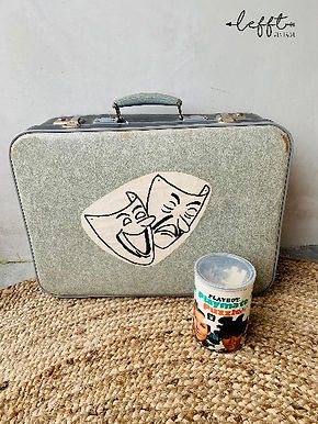 Vintage stoere koffer