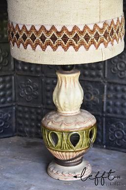Vintage 1960 West Germany lamp