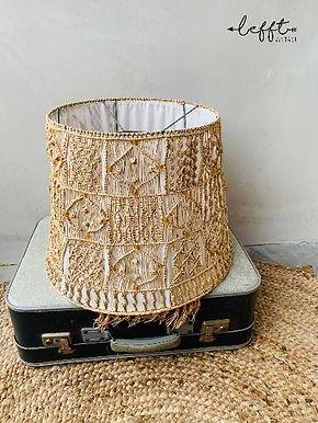 70's Macrame hanglamp