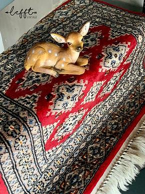 Vintage Perzisch Tapijt Rood