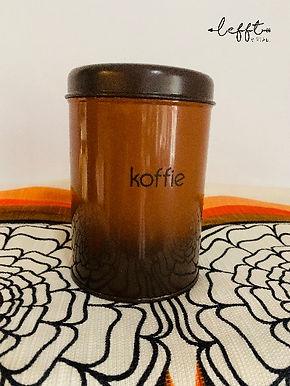 Brabantia70's koffiebus bruin