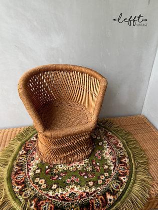 Vintage Boho Mini fauteuil