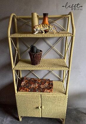Vintage rotan/bamboe kast
