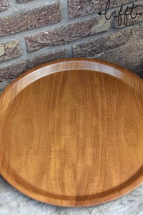 Retro plywood dienblad