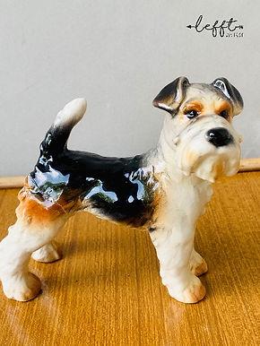 Goebel West Germany terrier dog beeldje